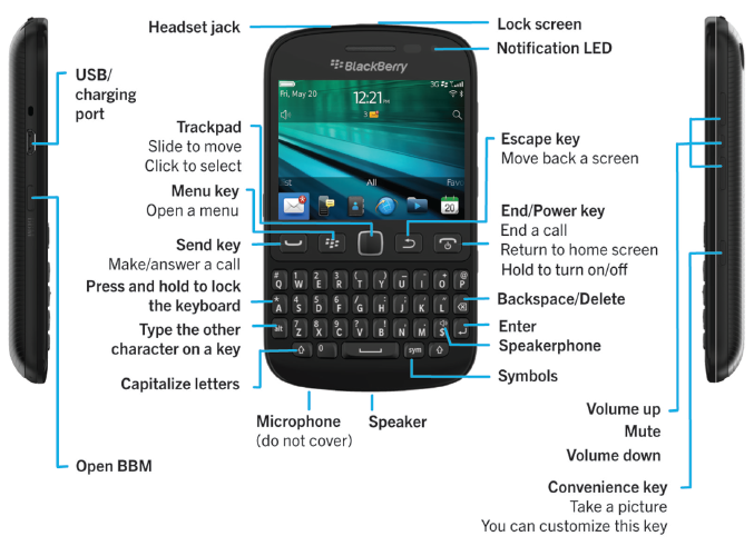 13 BlackBerry Touch Screen Phone Tricks You Can 'Show off' To Your Friends
