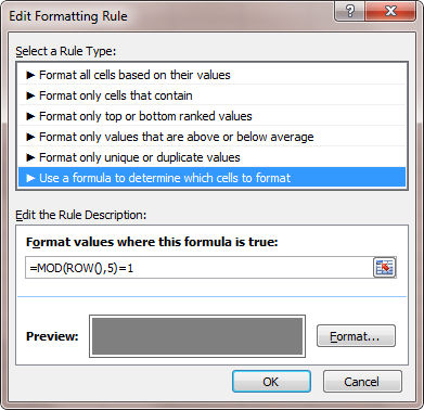 conditional formatting excel tips