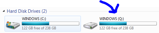 How to map a Network Drive within My Computer in Windows 7