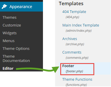 TheKeyPonderer Closing Body Tag Footer In WordPress