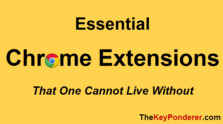 essential and useful chrome extensions download