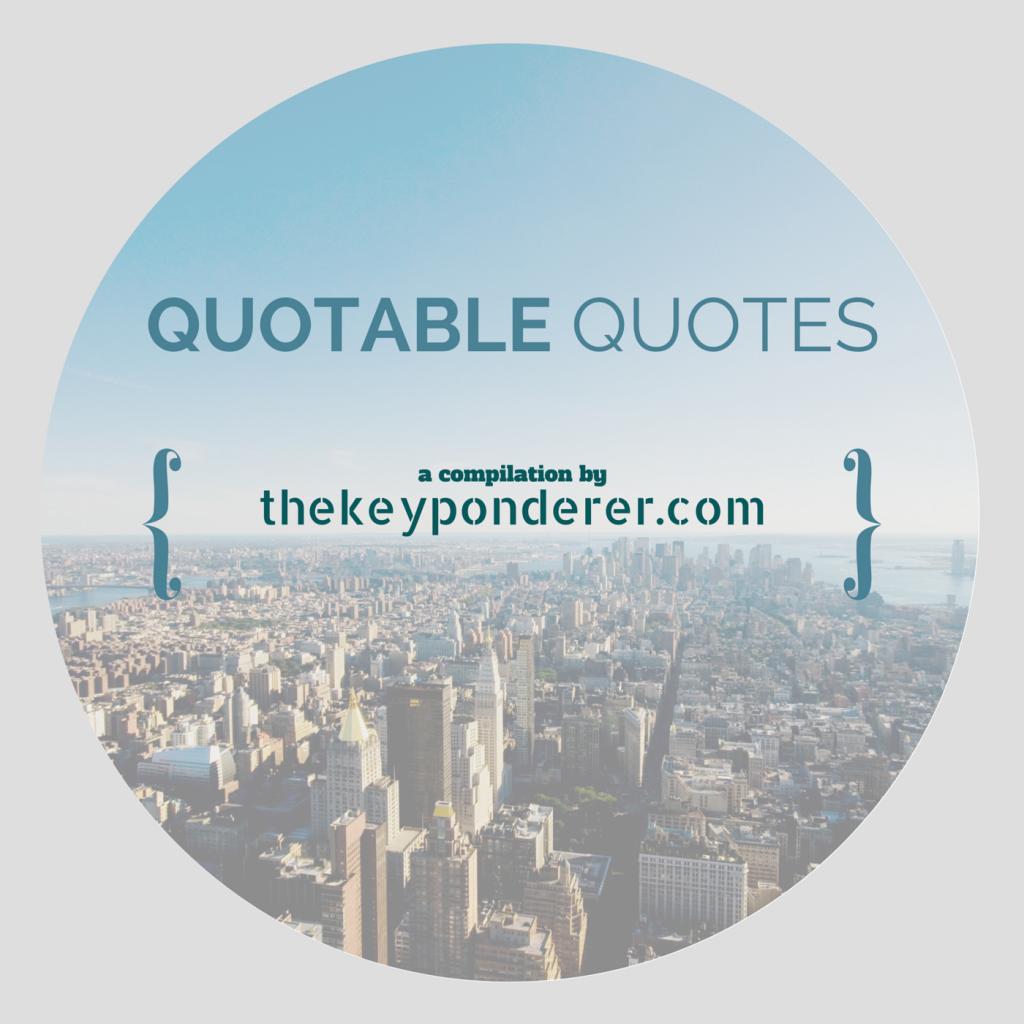 quotable quote